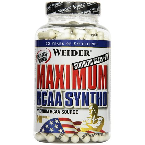 Maximum BCAA Syntho (240 Kapseln)