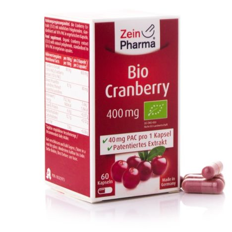 Bio Cranberry Extrakt (60 Kapseln)