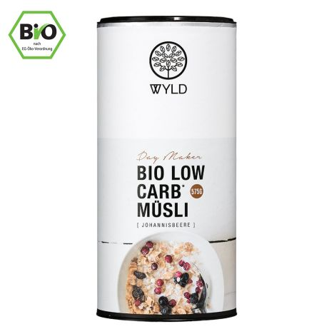 "Bio Low Carb Johannisbeere-Müsli ""Day Maker"" (575g)"