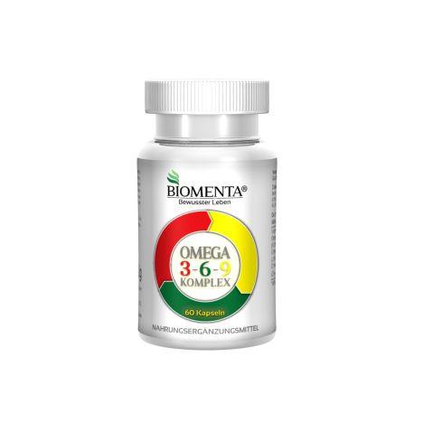 Omega 3-6-9 Komplex - 1 Monatskur (60 Kapseln)