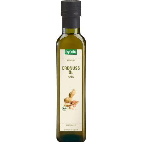 Erdnussöl nativ bio (250ml)