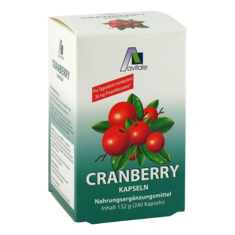 Cranberry 36mg Proanthocyane (240 Kapseln)