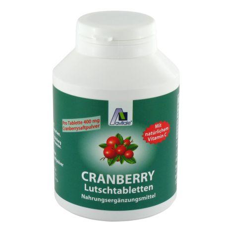 Cranberry Lutschtabletten (120 Tabletten)