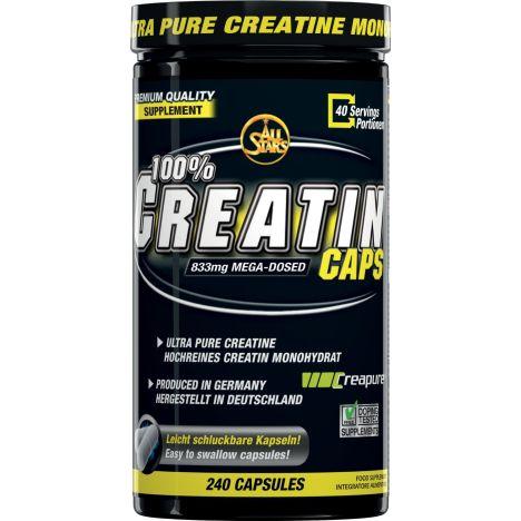 100% Creatin Caps (240 Kapseln)