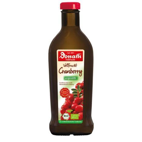 Bio Vollfrucht ungesüßt Cranberry (500ml)