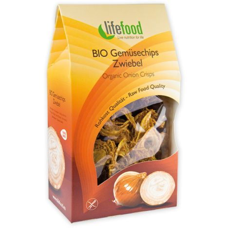 Bio Gemüsechips Zwiebel (60g)