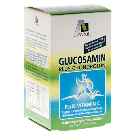 Glucosamin Kapseln 750mg (90 Kapseln)