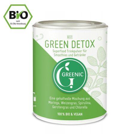 Green Detox Trinkpulver Mischung bio (90g)