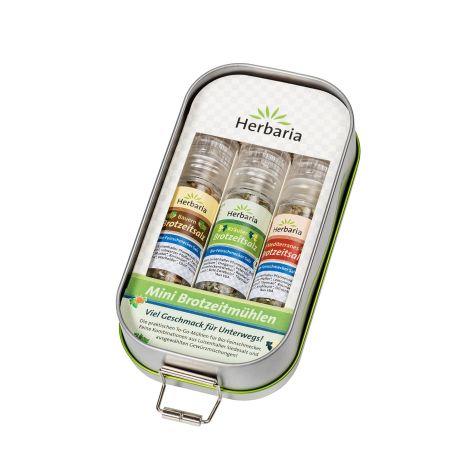 Lunchbox mit 3 Mini-Brotzeitmühlen bio