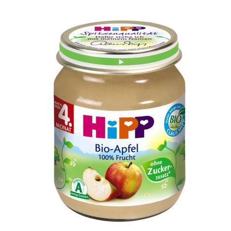 Bio Apfel ab dem 4. Monat (125g)