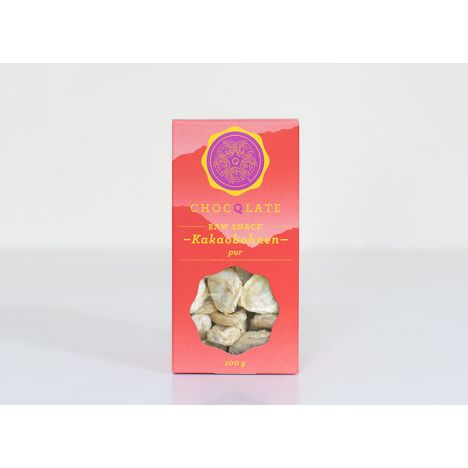 Raw Cacao Snack Bohnen pur bio (100g)