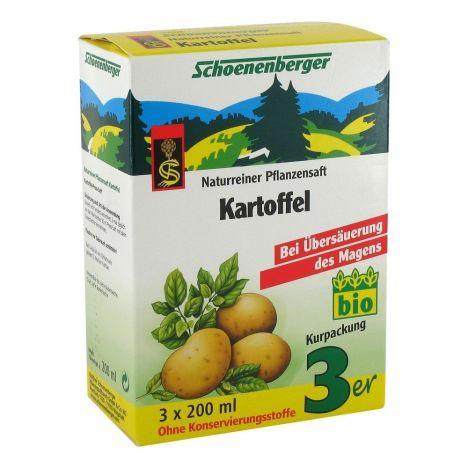 Kartoffel Naturreiner Pflanzensaft bio (3x200ml)