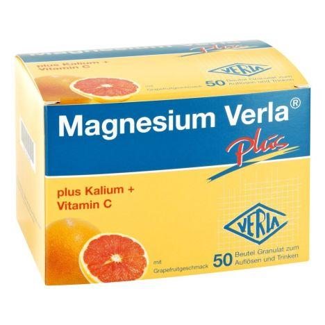 Magnesium Verla Plus Granulat (50 Stück)