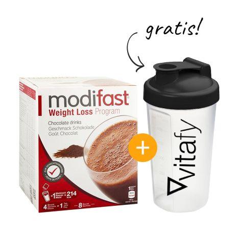 Programm Drink (8x55g) + GRATIS Vitafy Shaker (600ml)
