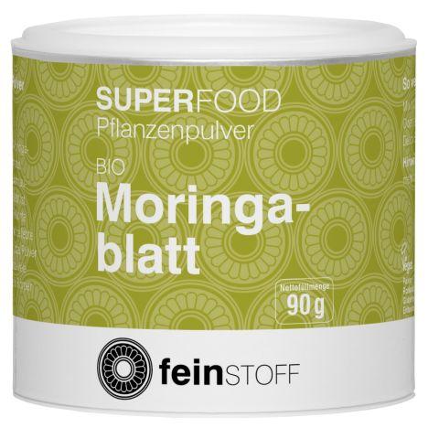Bio Moringablatt-Pulver (90g)