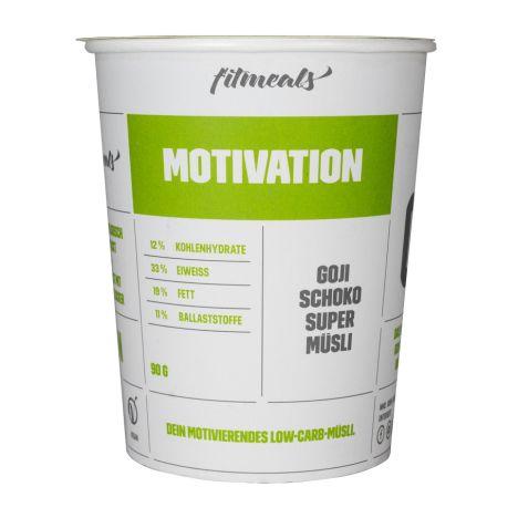 """Low Carb Protein-Müsli """"Motivation"""" Goji-Schoko (90g)"""