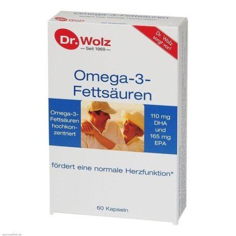 Omega-3-Fettsäuren Kapseln (60 Kapseln)