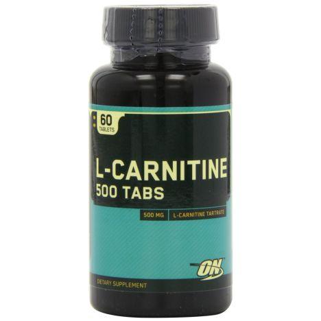 L-Carnitine 500 mg (60 Tabletten) MHD 31.10.2017