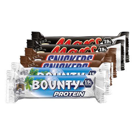 Mars Snickers Bounty Proteinriegel - Probierset (6x51g)