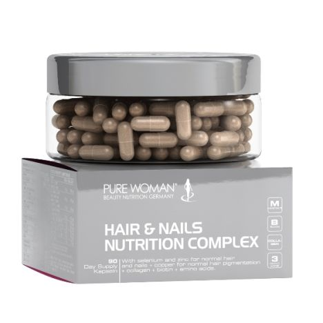 Hair & Nails Nutrition Complex (90 Kapseln)