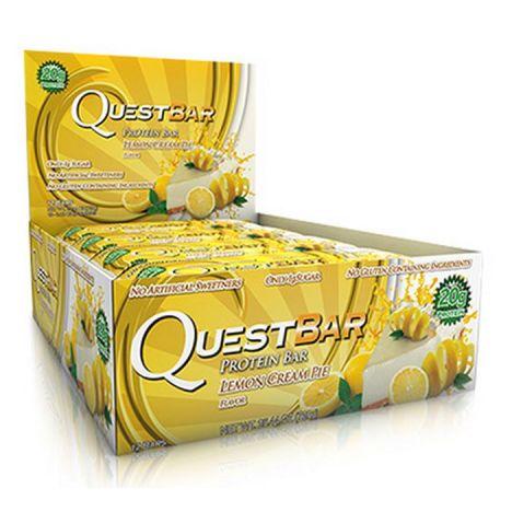 Quest Bar - 12 x 60g - Lemon Cream Pie
