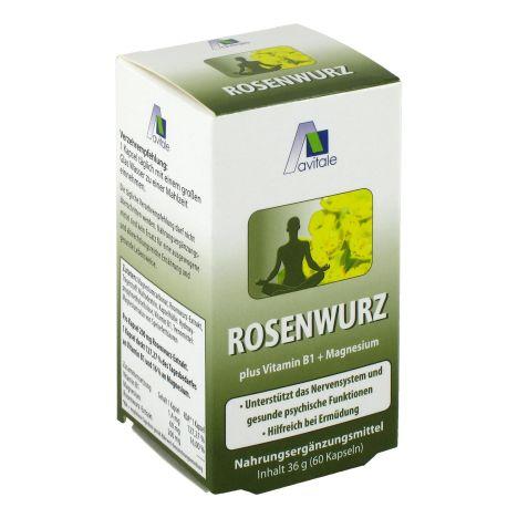 Rosenwurzkapseln (60 Kapseln)