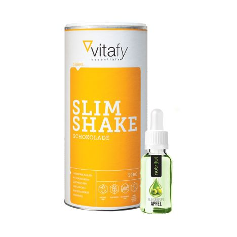 Slim Shake Neutral (500g) + Nutriful Flavour Drops (30ml)