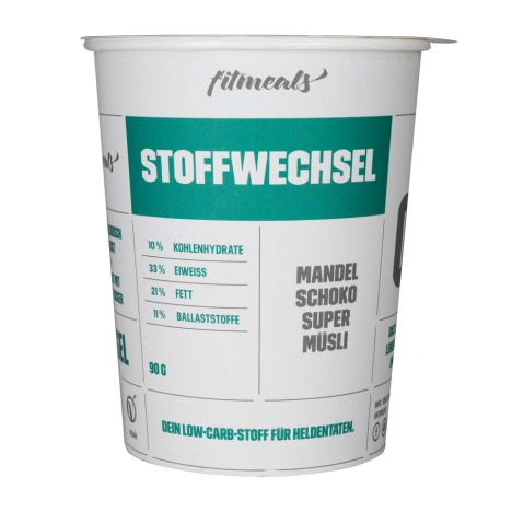 "Low Carb Protein-Müsli ""Stoffwechsel"" Mandel-Schoko (90g)"