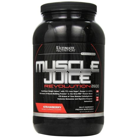 Muscle Juice Revolution 2600 - 2120g - Strawberry MHD 30.04.2018