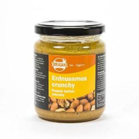 Erdnussmus crunchy bio (250g)
