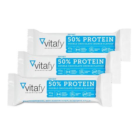 3 x 50% Protein Riegel (3x45g)