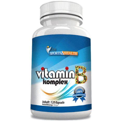 Vitamin B Komplex (120 Kapseln) 31.12.2017