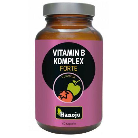 Vitamin B Komplex forte 320 mg, hochkonzentriert (60 Kapseln)