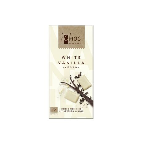 iChoc White Vanilla bio (80g)