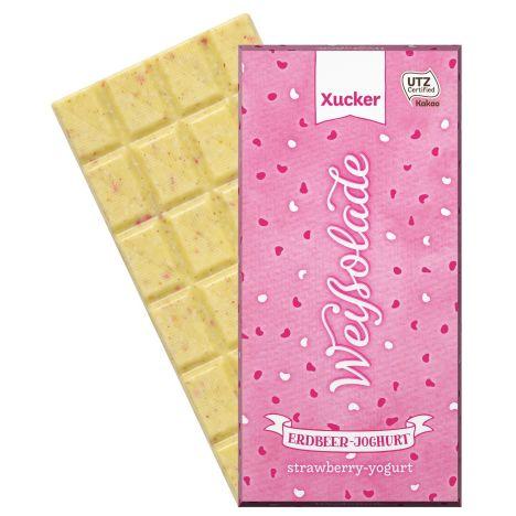 Xylit Erdbeer-Joghurt-Schokolade (100g)