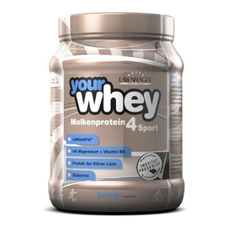 your whey Molkenprotein 4 Sport (450g)