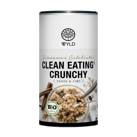 Bio Clean Eating* Crunchy Kokos & Zimt (350g)