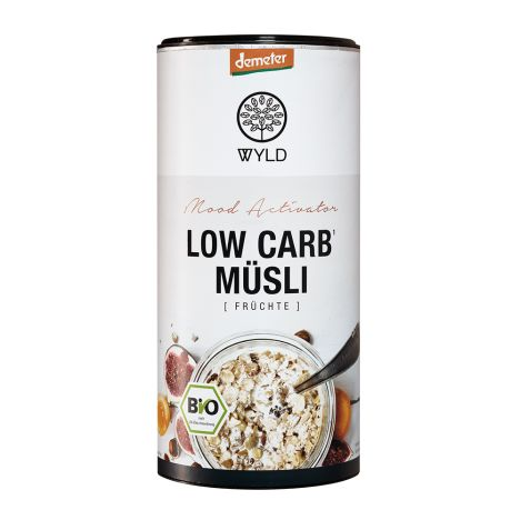 Demeter Low Carb Müsli Früchte (450g)