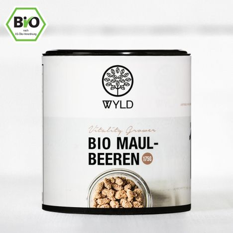 "Bio Maulbeeren ""Vitality Grower"" (175g)"