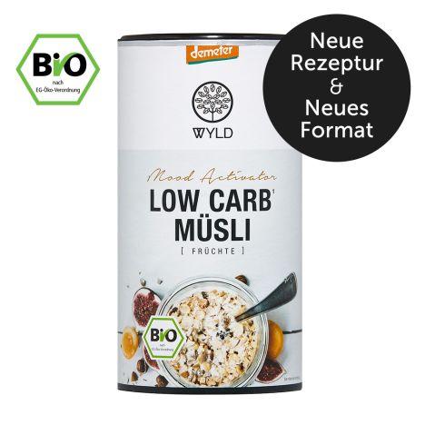 "Demeter Low Carb* Müsli Früchte ""Mood Activator"" (350g)"
