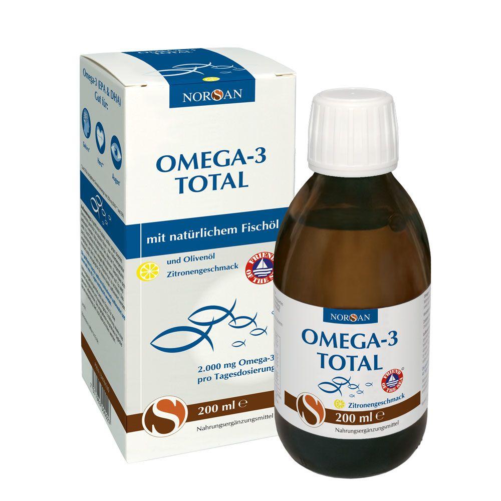 Omega-3 Total - 200ml - Zitrone
