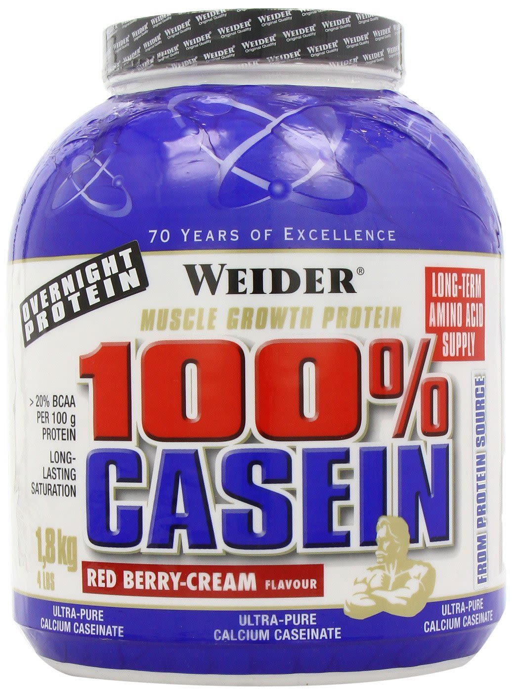Day & Night Casein - 1800g - Schokolade-Creme