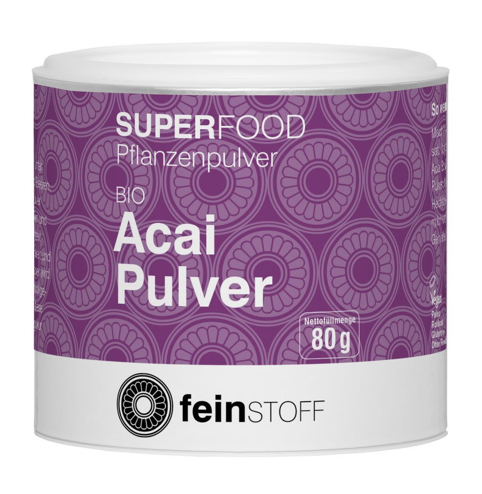 Bio Acai-Pulver (80g)