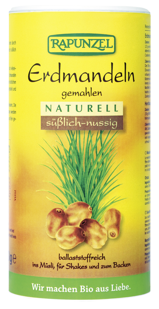Erdmandeln gemahlen naturell bio (300g)