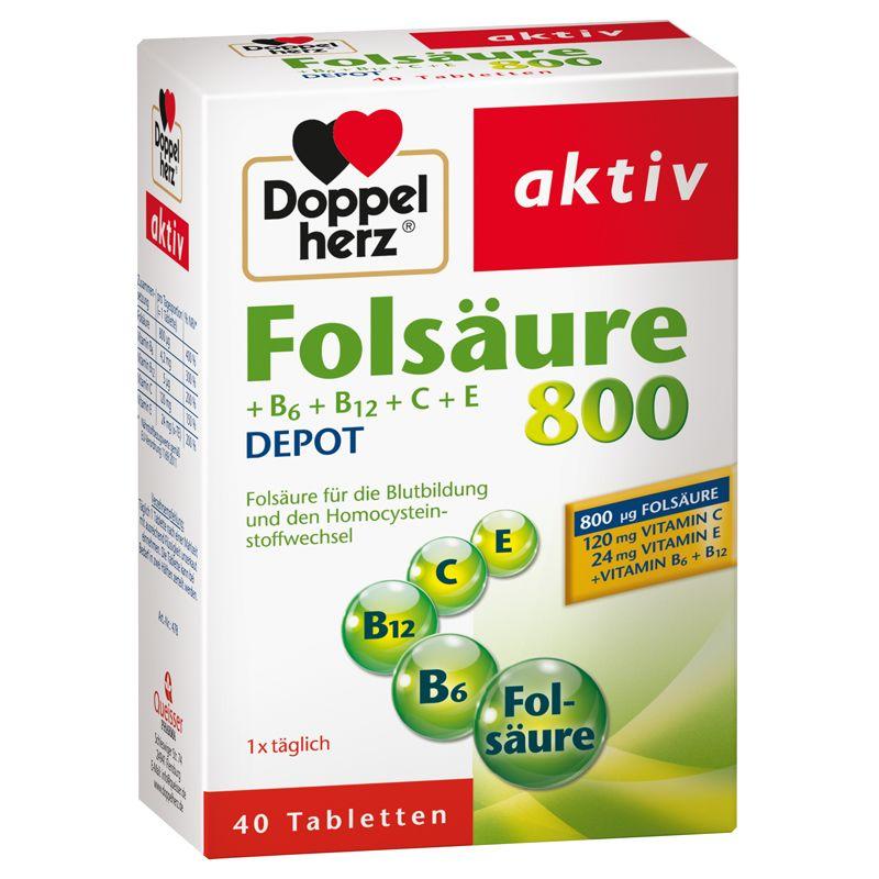 Folsäure Depot (40 Tabletten)
