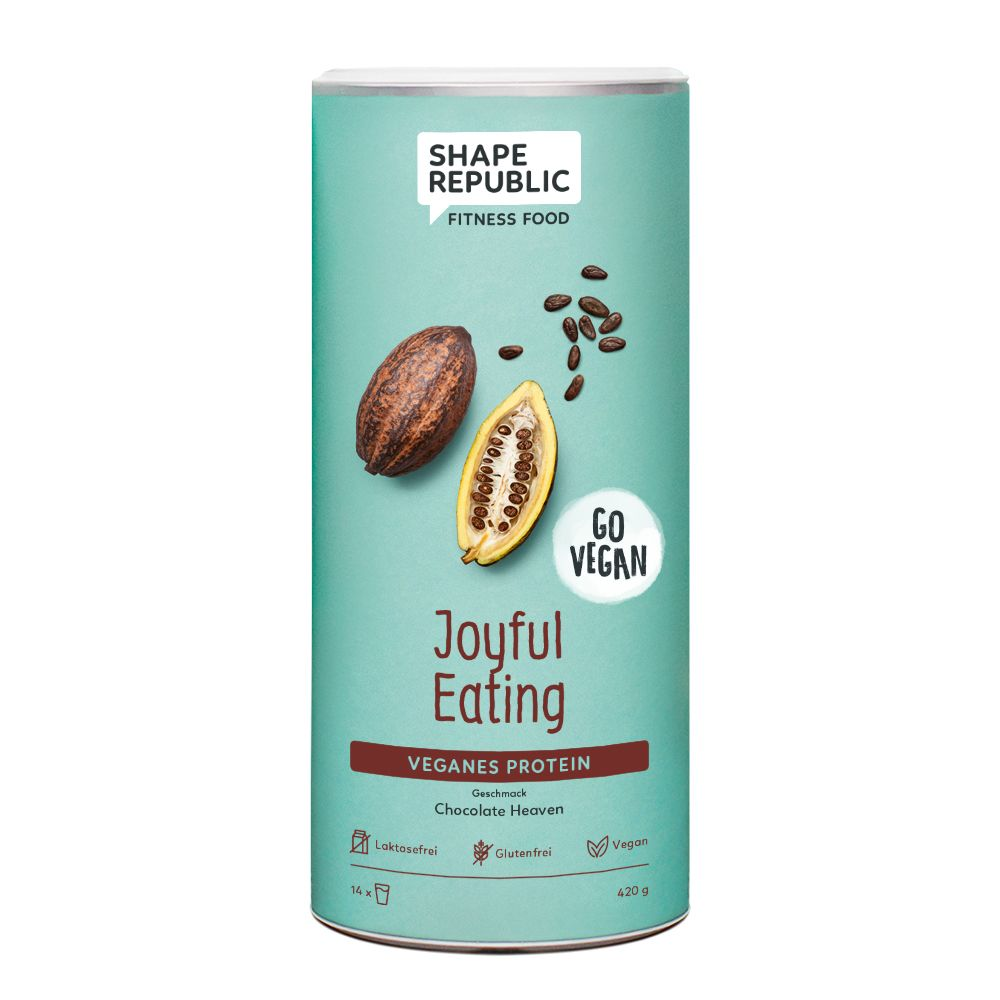 Veganes Protein Chocolate Heaven »Joyful Eating...