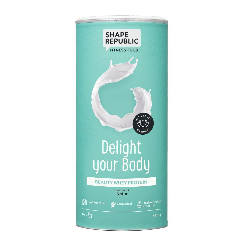 Beauty Whey Protein Natur »Delight your Body« (420g)