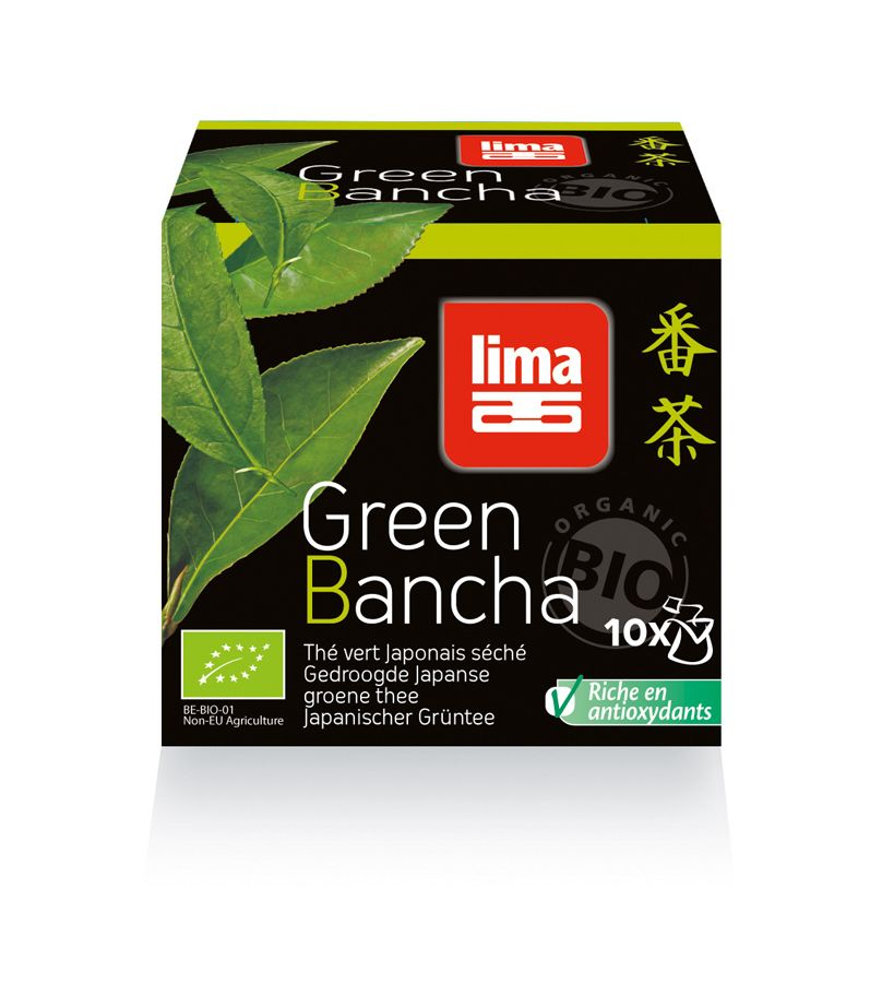 Green Bancha bio (10 Beutel)