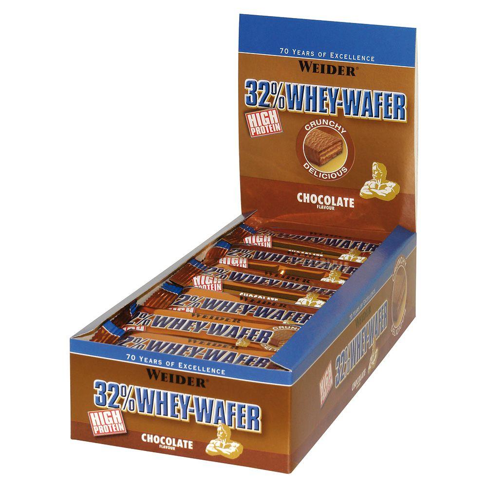 32% Whey Wafer - 24 x 35g - Erdbeere