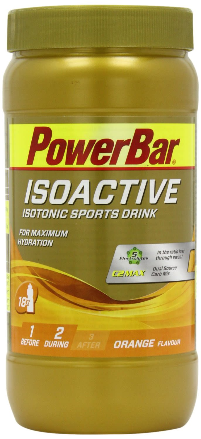 Isoactive - Isotonic Sports Drink - 600g - Orange
